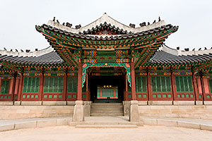 Changdeok Palace, Seoul, South Korea