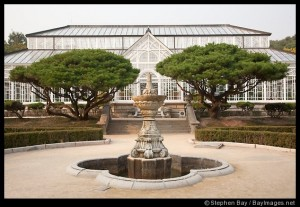 This botanical garden was built on the grounds of Cheonggyeong Palace in Seoul, South Korea. It was completed in 1909. Photo #21322